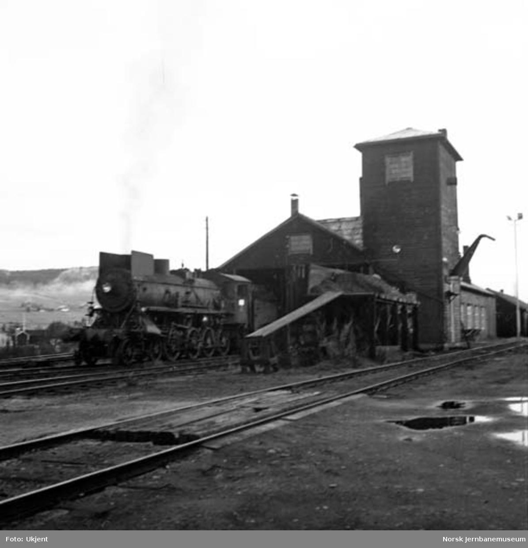 Tynset stasjon : lokomotivstallen