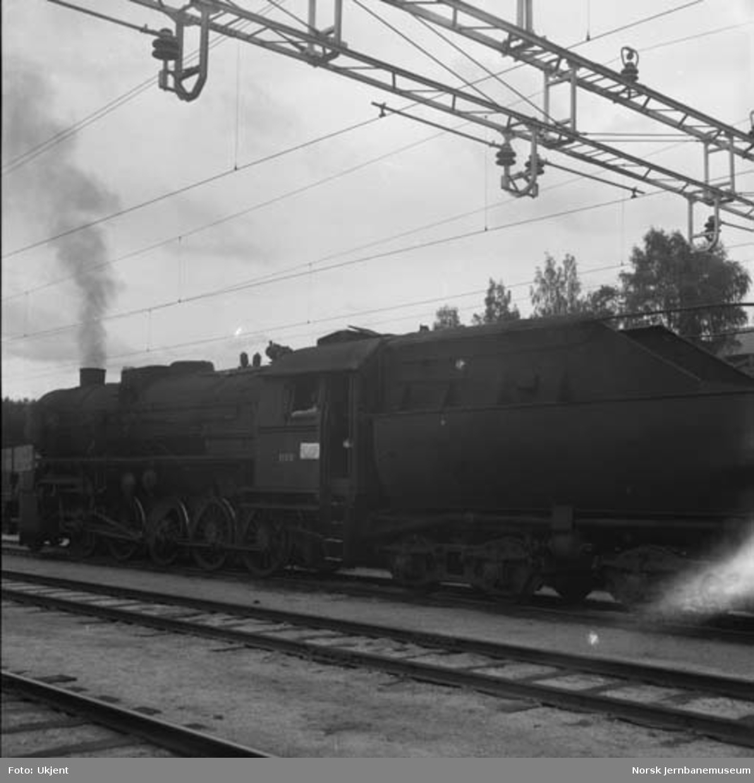 Damplokomotiv type 63a nr. 1100