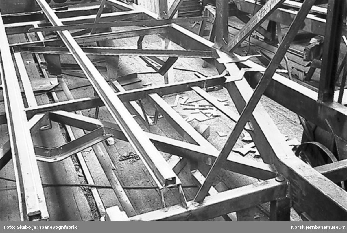 Stålvogn 1940, rammekonstruksjonen : trolig sovevogn litra Co1c