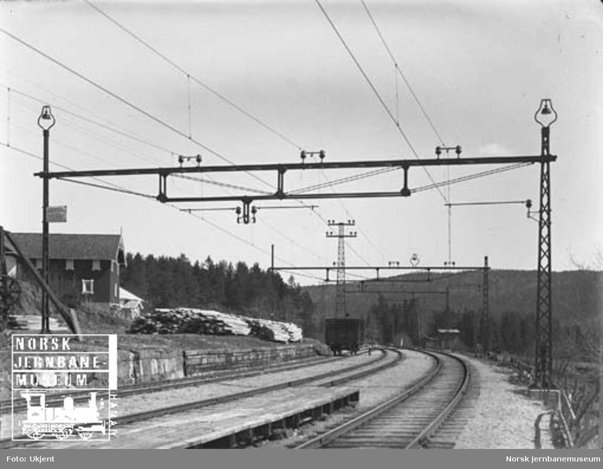 Kontaktledningsanlegg Drammen-Kongsberg