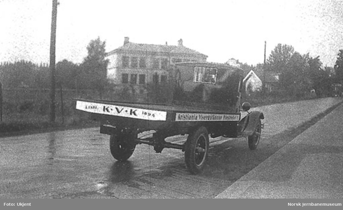 Ford AA lastebil til Kristiania Visergutkontor