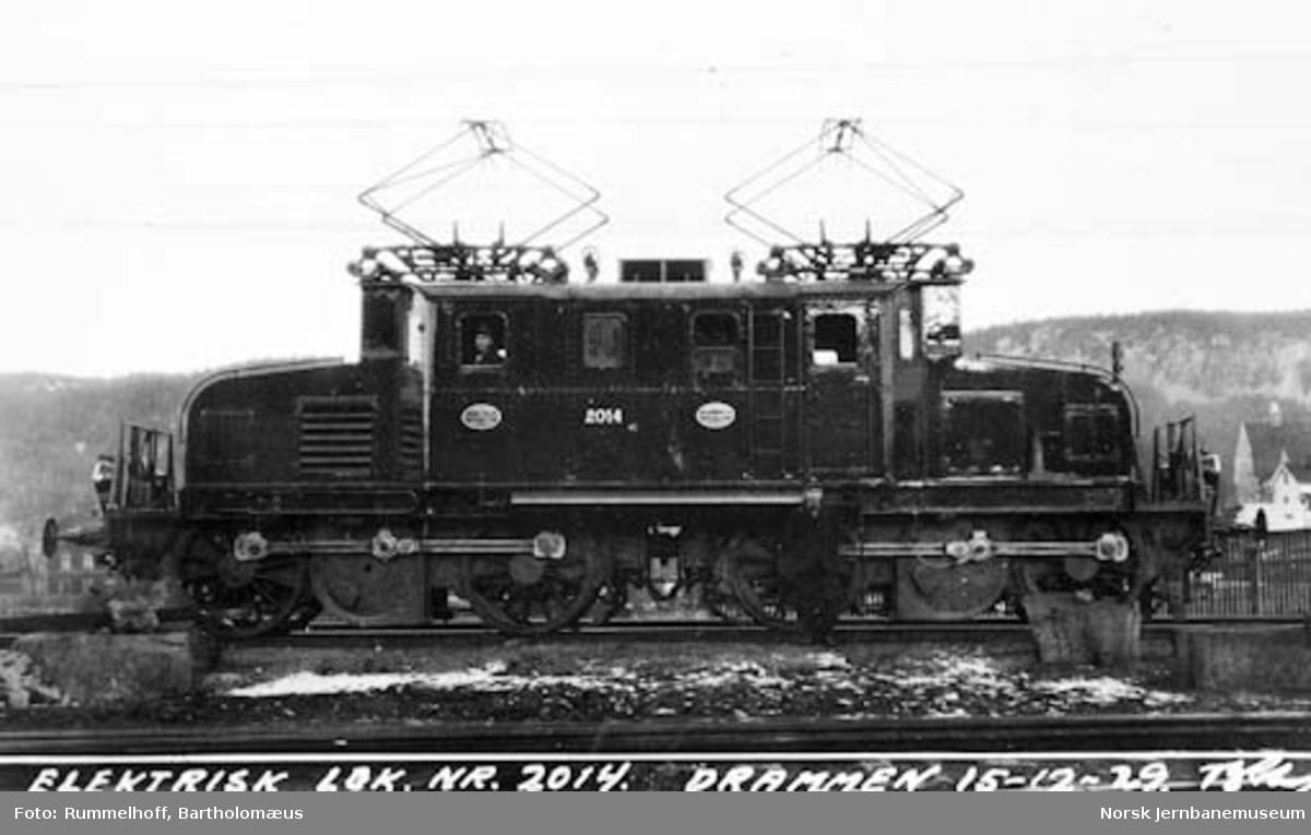 Elektrisk lokomotiv type El 1 nr. 2014