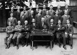 Jernbaneskolens telegrafistkurs våren 1920