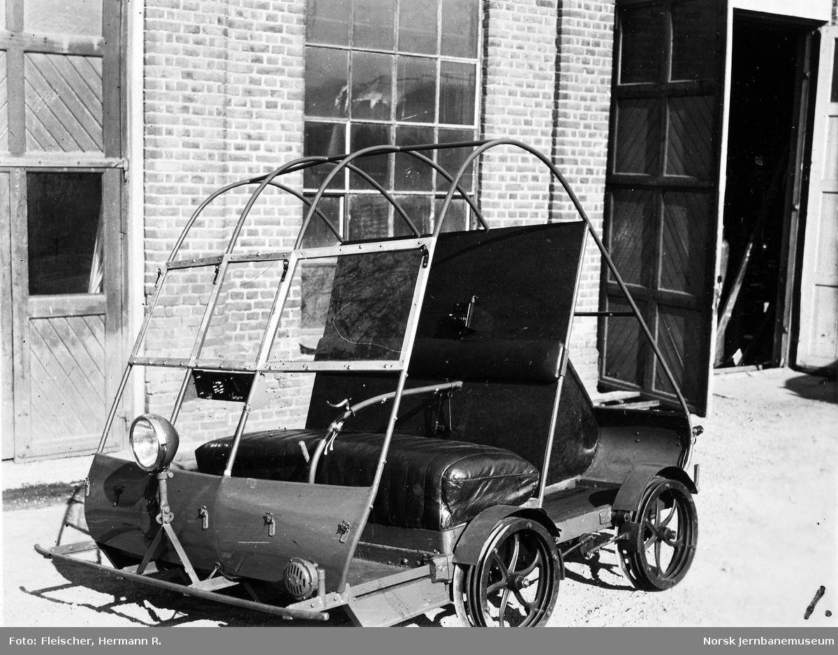 Firehjuls motortralle fra HØKA som ny