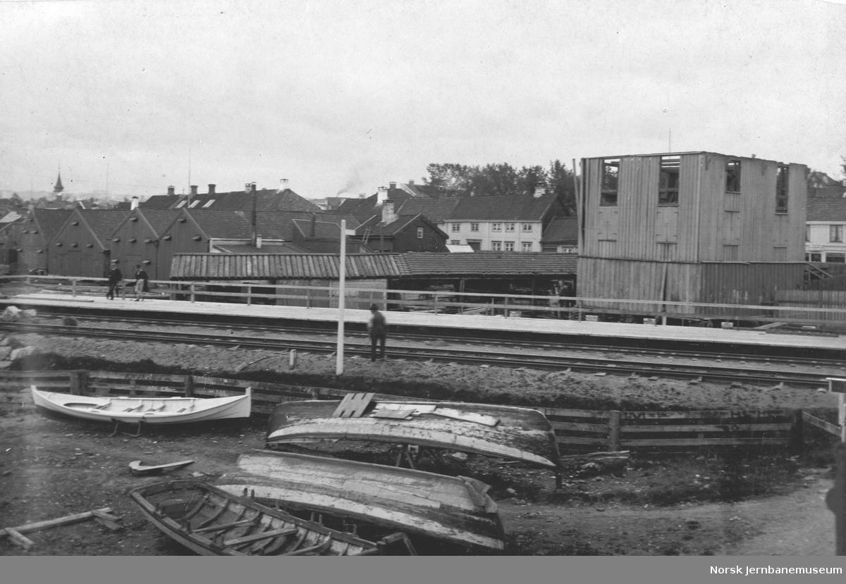 Jernbanespor ved Skansen