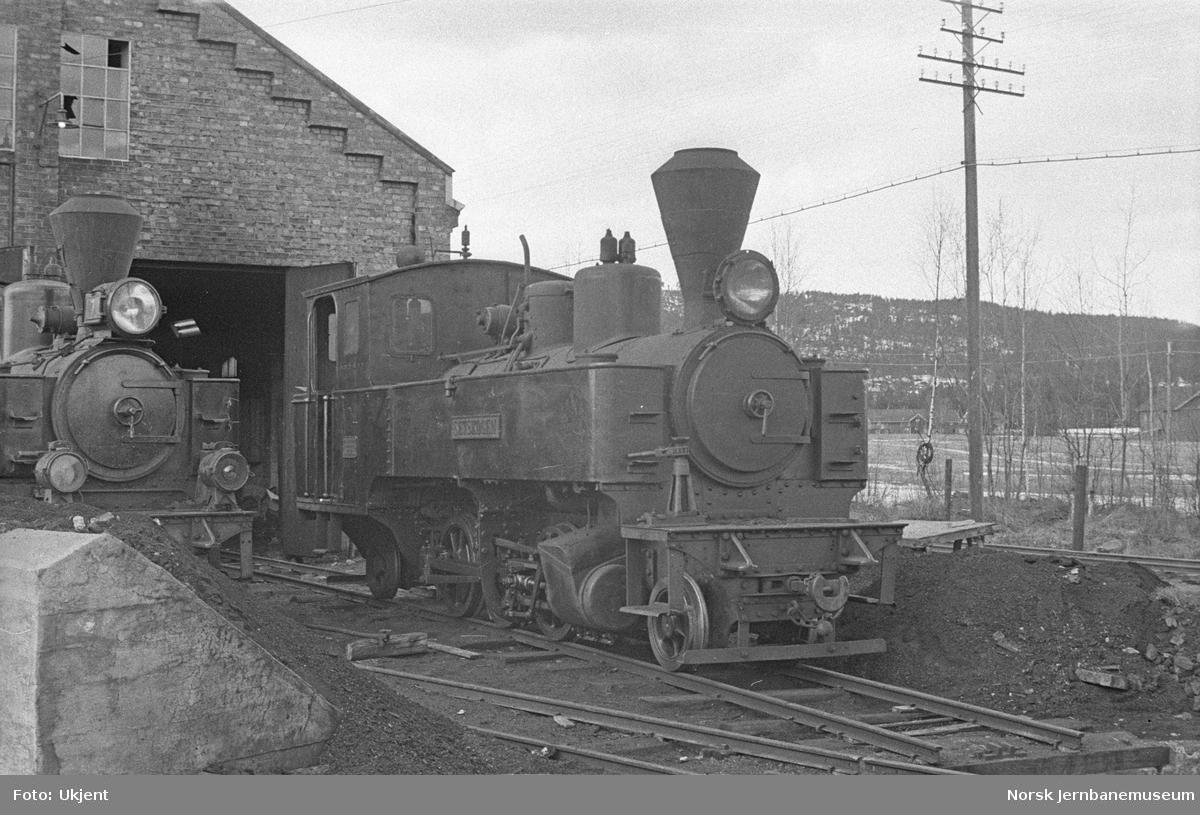 "Damplokomotiv nr. 4 ""Setskogen"""