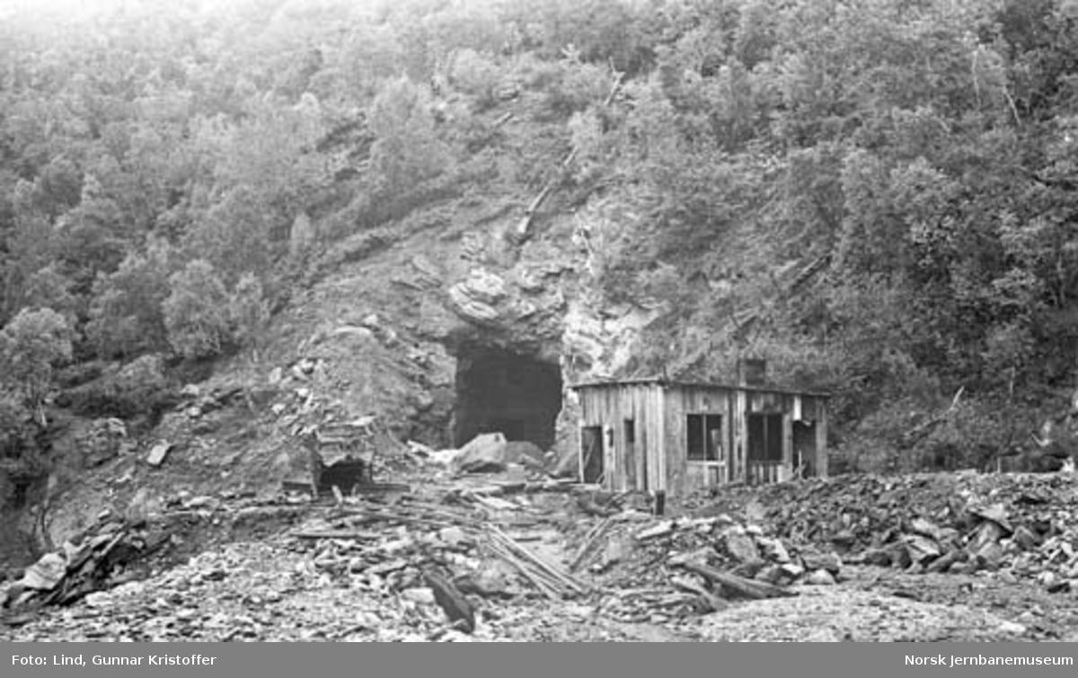Nordlandsbaneanlegget : søndre innslag for Tuva tunnel