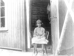 Holoa seter, Hadeland, Jevnaker, Oppland, 1903. Karen Q. Wib