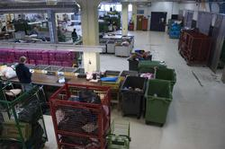 Fretexavdelingen, sorteringshallen, Ole Deviks vei 50, 0668