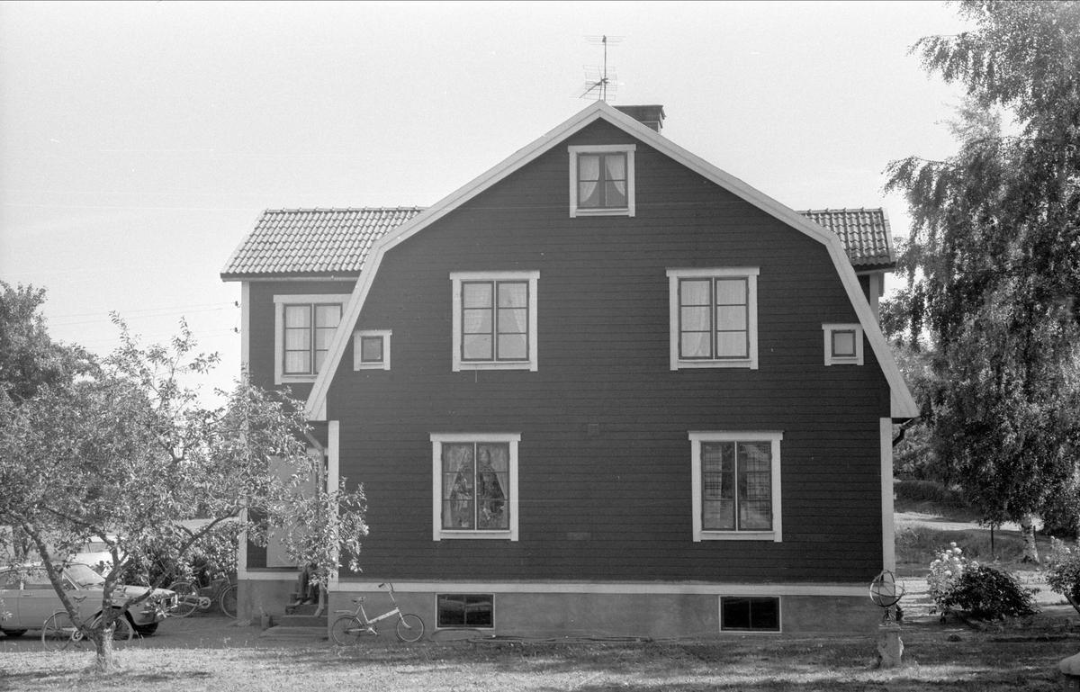 Mangårdsbyggnad, Högsta 4:2, Bälinge socken Uppland 1976