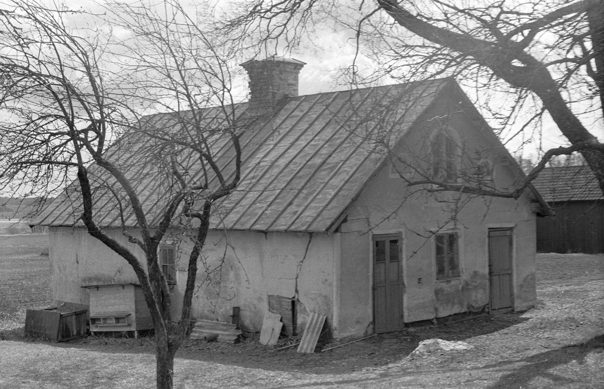 Snickarbod, Uggelsta 1:1, Uggelsta, Lena socken, Uppland 1977