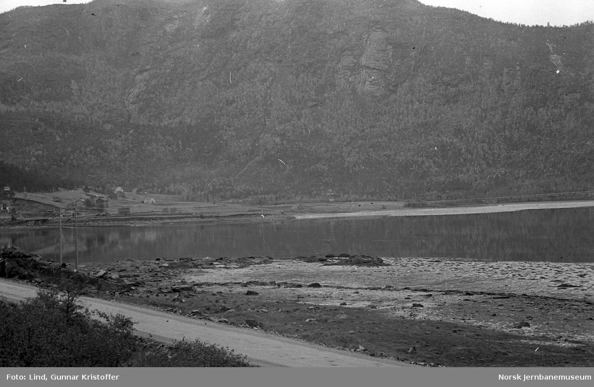 Nordlandsbaneanlegget : linjeparti mot Botn og Dalmovika