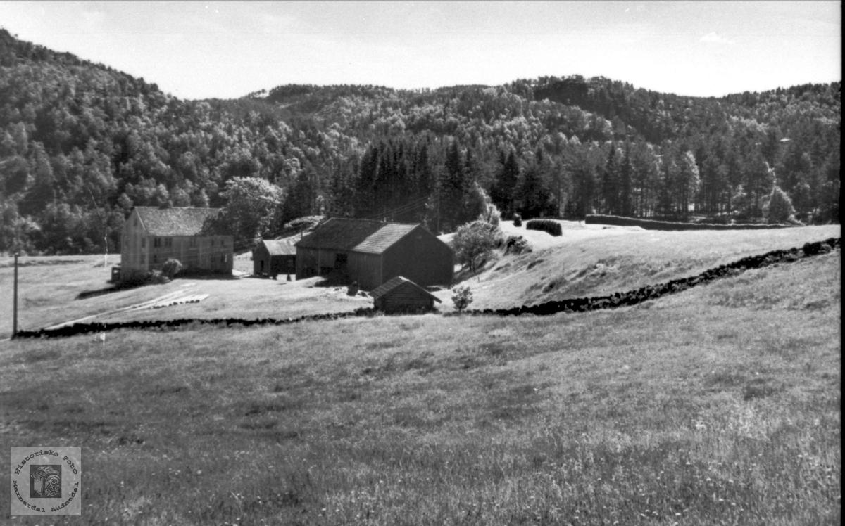 Den gamle lensmannsgarden på Trygsland, Bjelland.