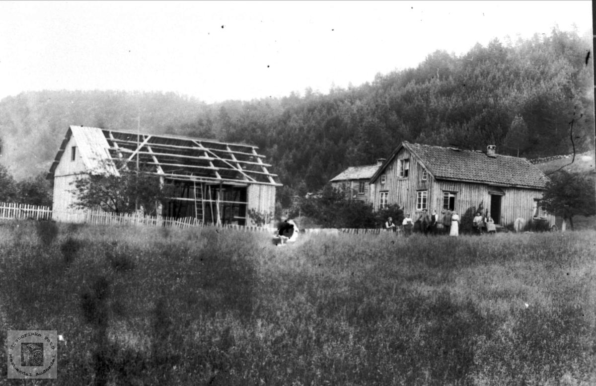 """""""Nerehagen"""" Haugland i Bjelland."""