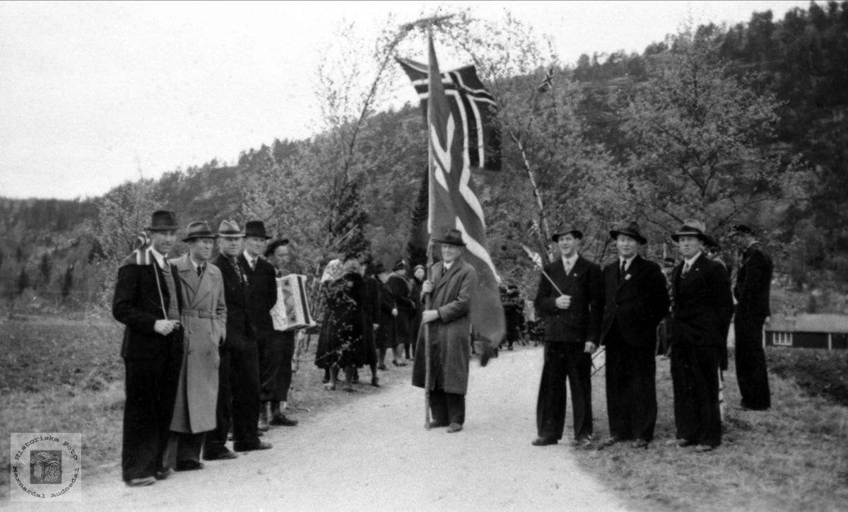 Soknepresten i Bjelland venta tilbake fra tysk fangenskap.