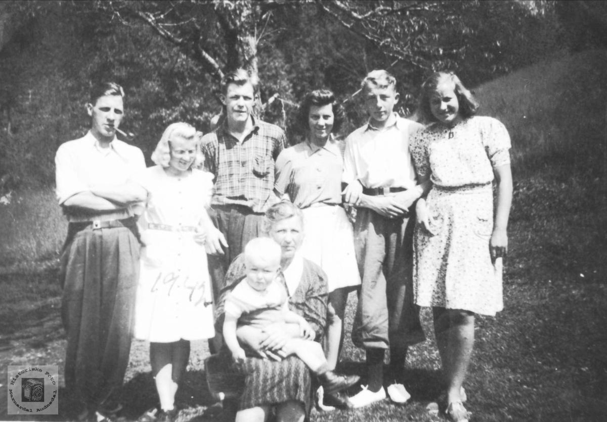 Krigsflykninger fra Kristiansand under 2. verdenskrig. Finsland.