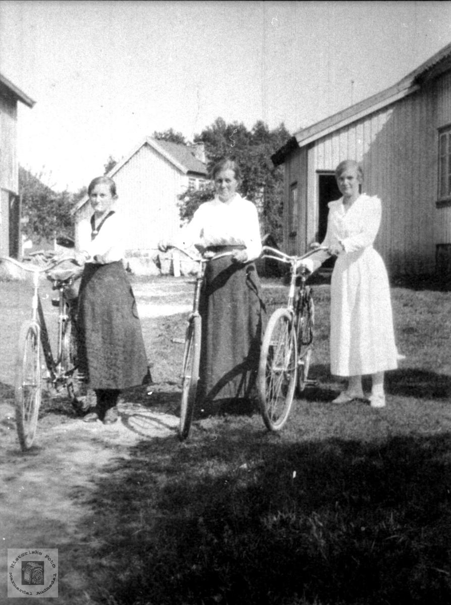 Sykkel jentene