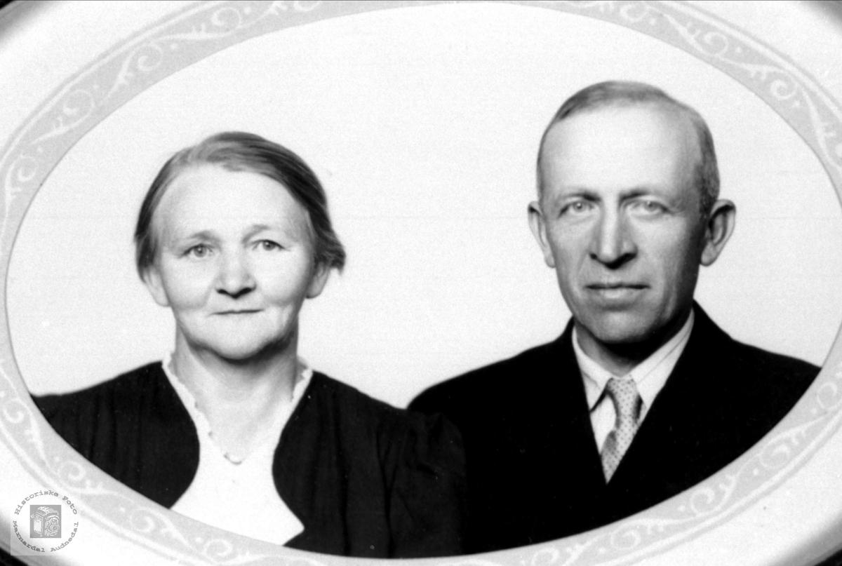 Ekteparet Gunhild og Jens Eikaas