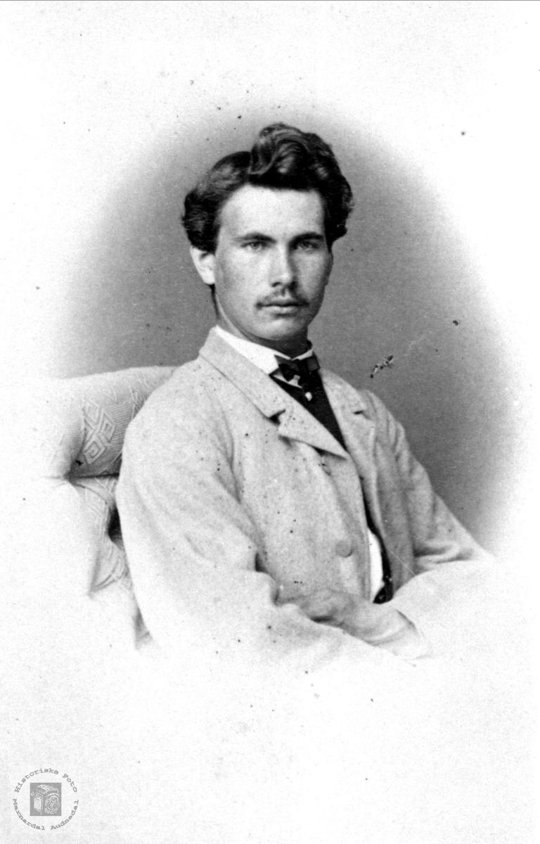 Portrett av Hans Maartmann.