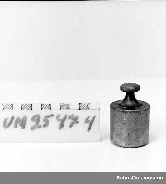"""594 Landskap BOHUSLÄN  Krönt, instansat: """"U 55  5 hg"""". Sammanhör med UM25471 (våg) UM 25472-UM25475."""