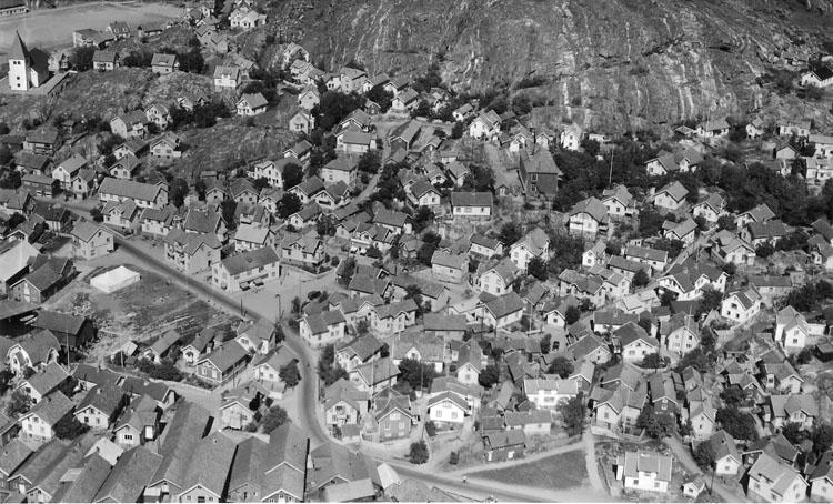 Skärhamn, flygbild 1952.             ::