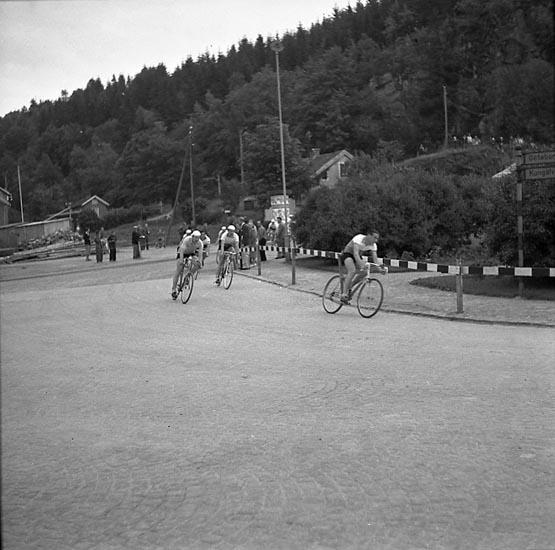 """Cykel - Bohus 4 juli 1947"""