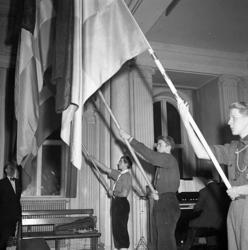 """Enligt notering: """"Prins Gustav Adolf minne 27/1 1947""""."""