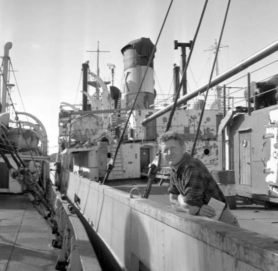 """Enligt notering: """"Upplagda båtar 12/9 -58""""."""