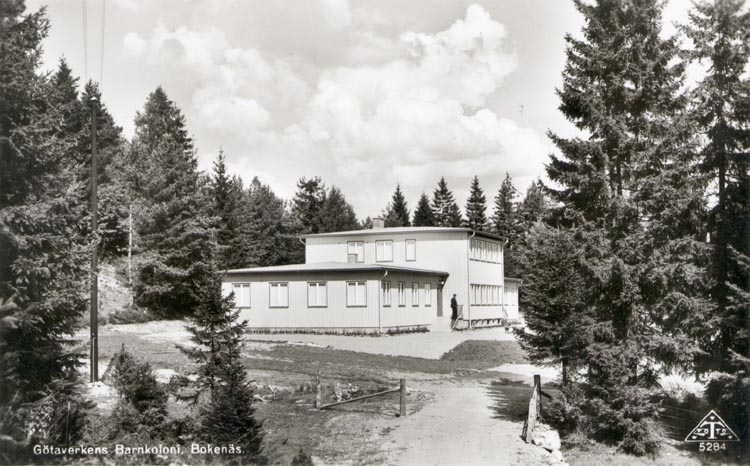 Götaverkens Barnkoloni, Bokenäs 1955