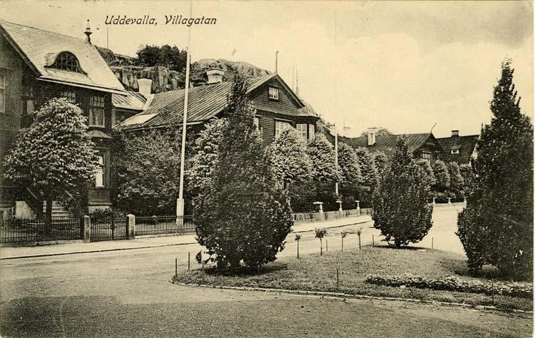 Uddevalla. Villagatan.