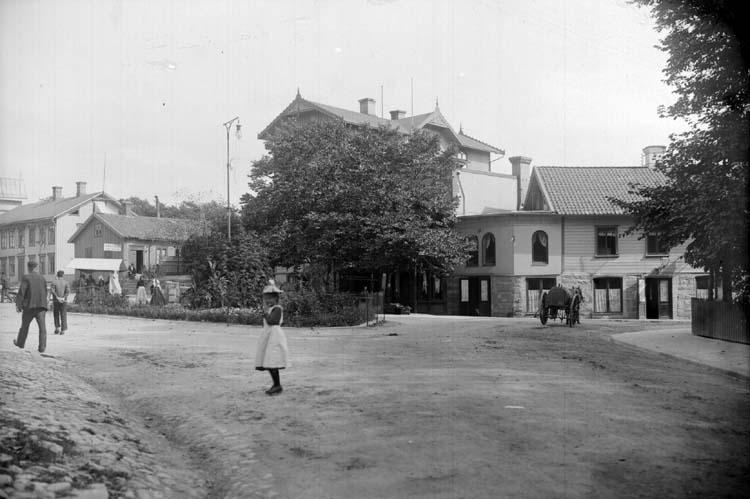 Gatuliv på Kungstorget, Lysekil