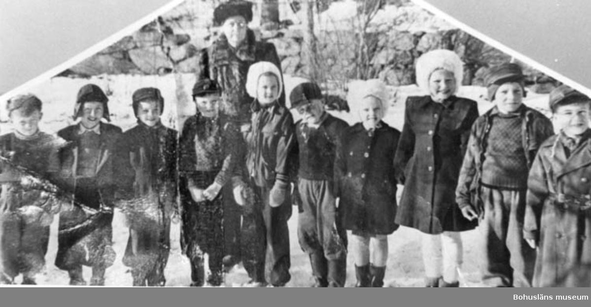 Skolklass från Hovenäset 1947-1948