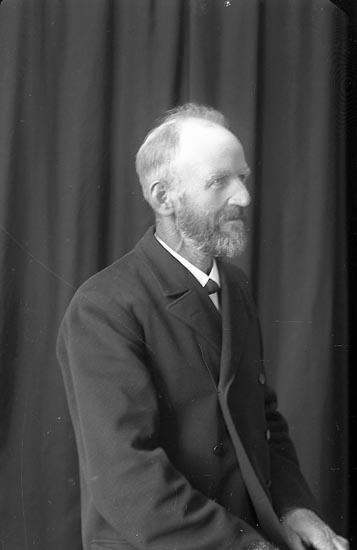 """Enligt fotografens journal Lyckorna 1909-1918: """"Abrahamsson, Adiel Brandseröd Ljungskile""""."""