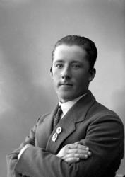 """Enligt fotografens journal nr 6 1930-1943: """"Samuelsson, Karl"""