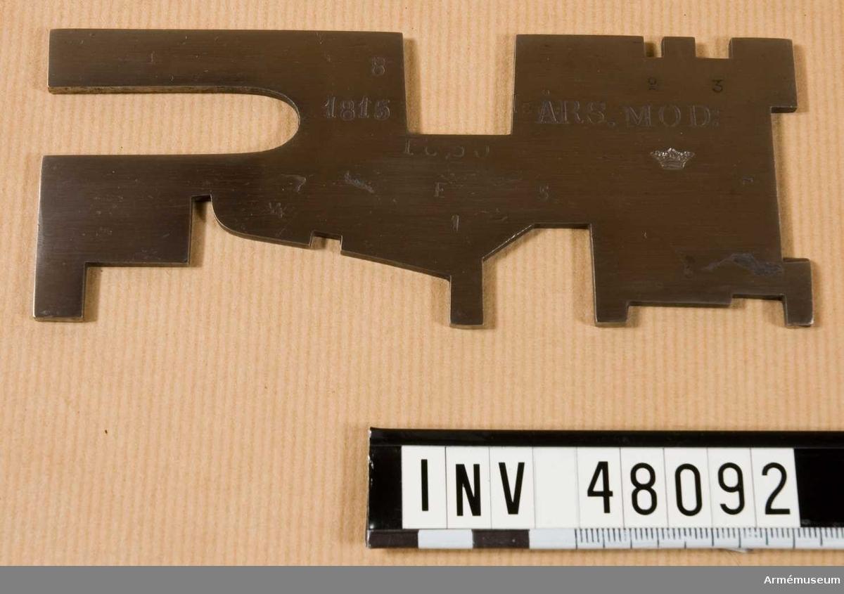Samhörande nr är 48087-94, besiktningsverktyg. Grupp E VIII.