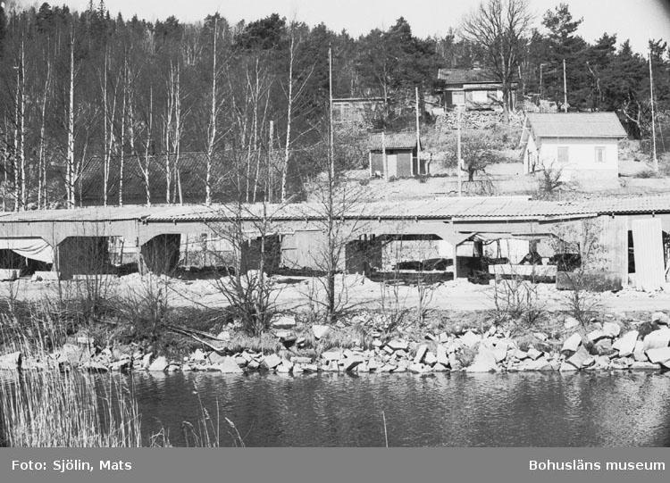 """Bohusläns samhälls- och näringsliv. 2. STENINDUSTRIN. Film: 19  Text som medföljde bilden: """"Vy Kullgrens plan. April 1977."""""""