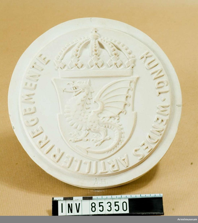 Grupp M II. Medalj för Kungl. Wendes Artilleriregemente (Nr 904)
