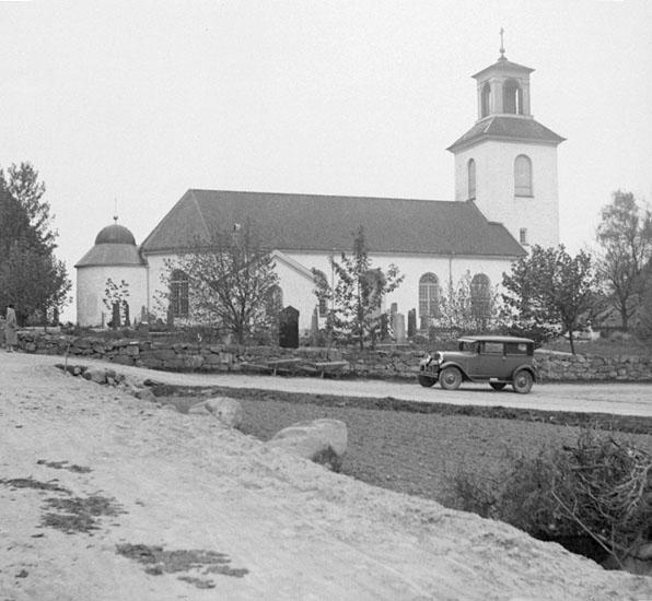 (Stereo karta XX) Valla kyrka.18 Maj 1930.