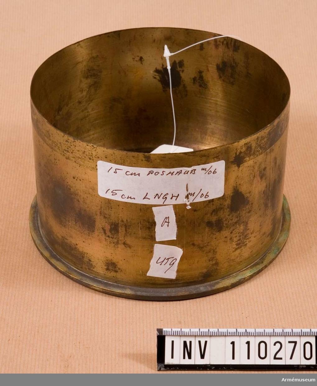 15 cm laddningshylsa m/1906