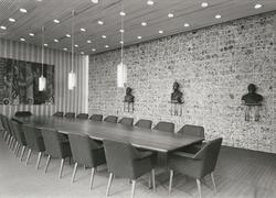 Statsrådsalen i Regjeringsbygningen [Fotografi]