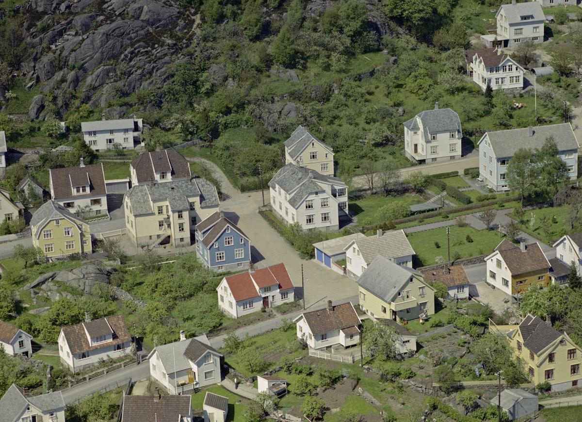 Hafsøy, Gamleveien, Damsgårdsgaten, Øvre Kirkegårdsgaten