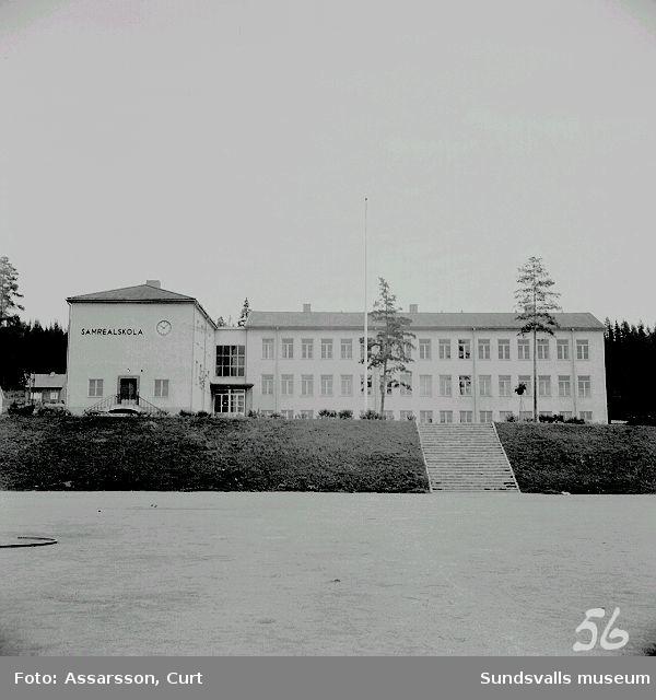 Realskola, Ånge.