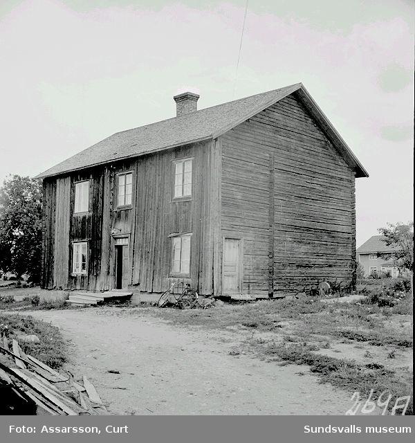 Mangårdsbyggnad 1700-tal. Söderströms i Bjärme.