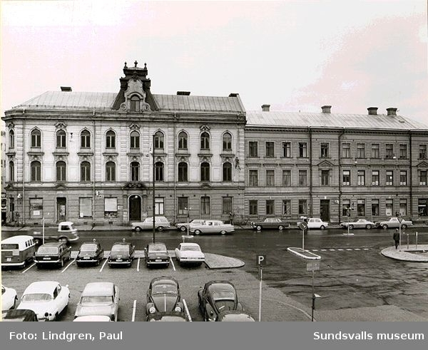 Sundsvalls Tidnings hus, f d Thuressons. Köpmangatan.