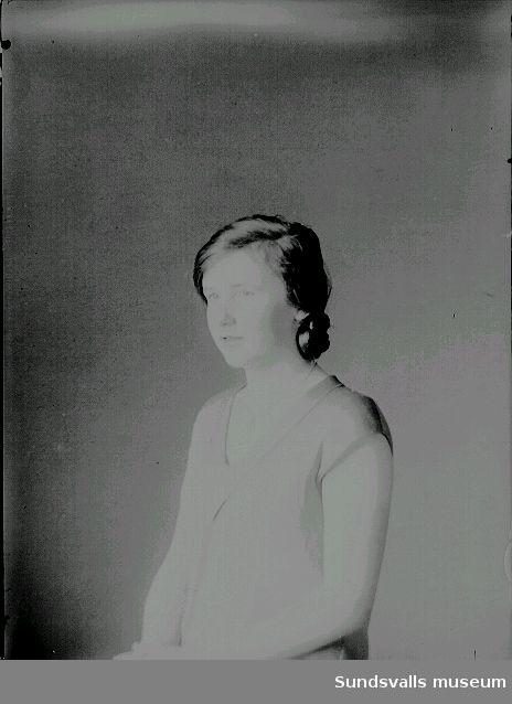 Porträtt. Kvinna.