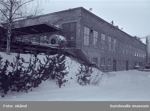 Alfredshem sågverk, fabrik,magasin,kontor m.m.