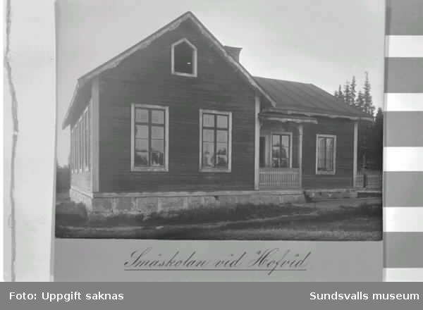 Småskolan vid Hofvid, Alnö.