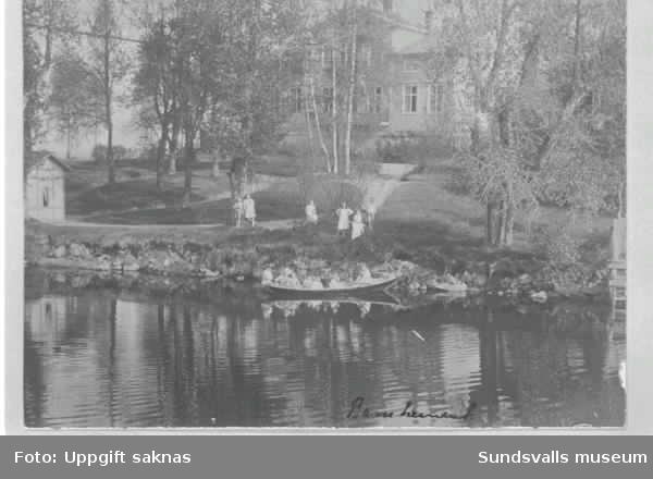 Bildsvit från Sundsvalls barnhem på Åkroken.