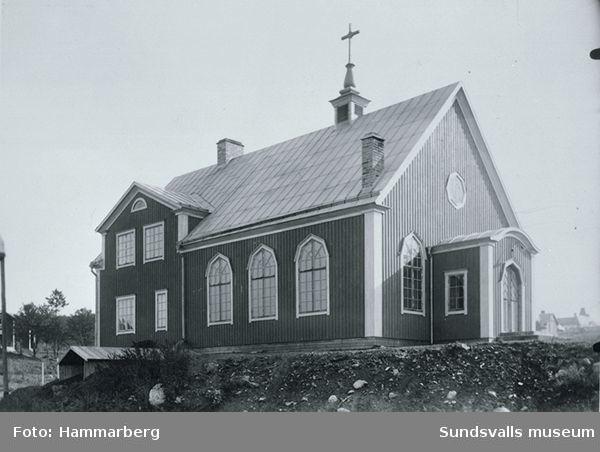 Elimkapellet i Gångviken.