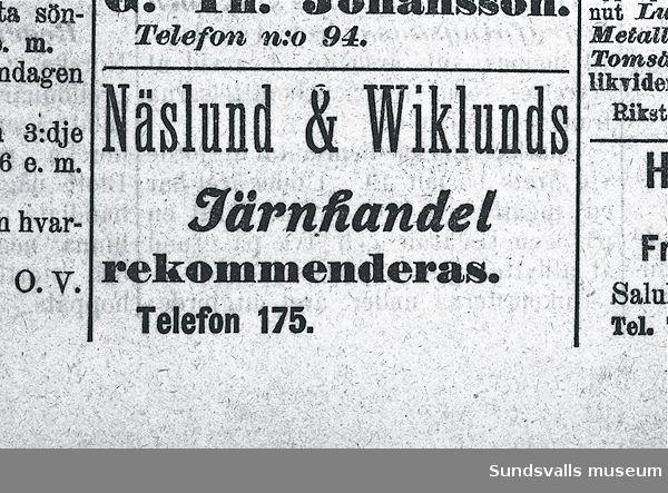 Näslunds & Wiklunds järnhandel